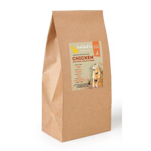Grain Free Chicken with Sweet Potato & Herbs