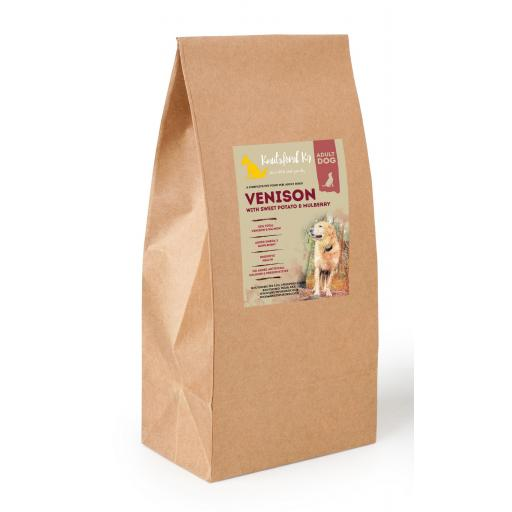 Grain Free Venison with Sweet Potato & Mulberry